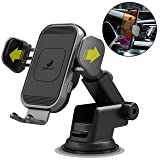 ZeeHoo Wireless Car Charger,15W Qi Fast Charging Auto-Clamping Car Mount,Windshield Dash Air Vent Phone Holder Compatible iPhone 11/11 Pro/Pro Max/XS MAX/XS/XR/X/8,Samsung Note10/S10/S9/S8/S7 Pixel/LG