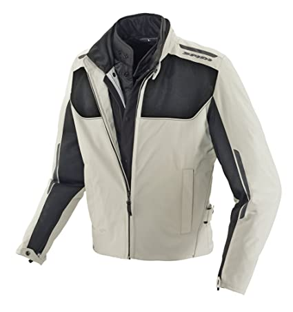 Spidi D102-437- S Netrycom H2Out Veste Homme, Glace, Taille : S
