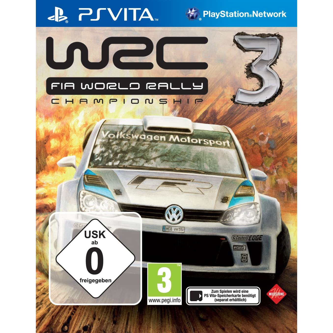 product photo for WRC 3 - World Rally Championship