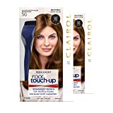 Clairol Nice 'n Easy Root Touch-Up 5G Kit (Pack of 2) Matches Medium Golden Brown Shades of Hair Coloring, Includes Precision Brush Tool (Color: 5G Medium Golden Brown, Tamaño: Pack of 2)