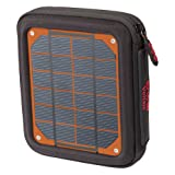 Voltaic Systems Amp Portable Rapid Solar Charger with Battery Pack (Power Bank) 6,400mAh & 2 Year Warranty | Powers Phones Compatible with iPhone, Tablets, USB, More | Waterproof - Orange (Color: Orange)