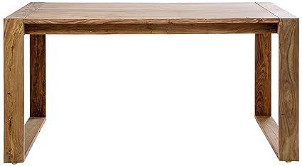 Kare 74821 Schreibtisch, Holz, braun, 70 x 150 x 76 cm