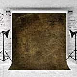 Kate 5x7ft Abstract Stones Wall Photography Backdrop for Photographer Photo Retro Texture Background Prop Shoot Studio (Color: 133001, Tamaño: 5x7ft)