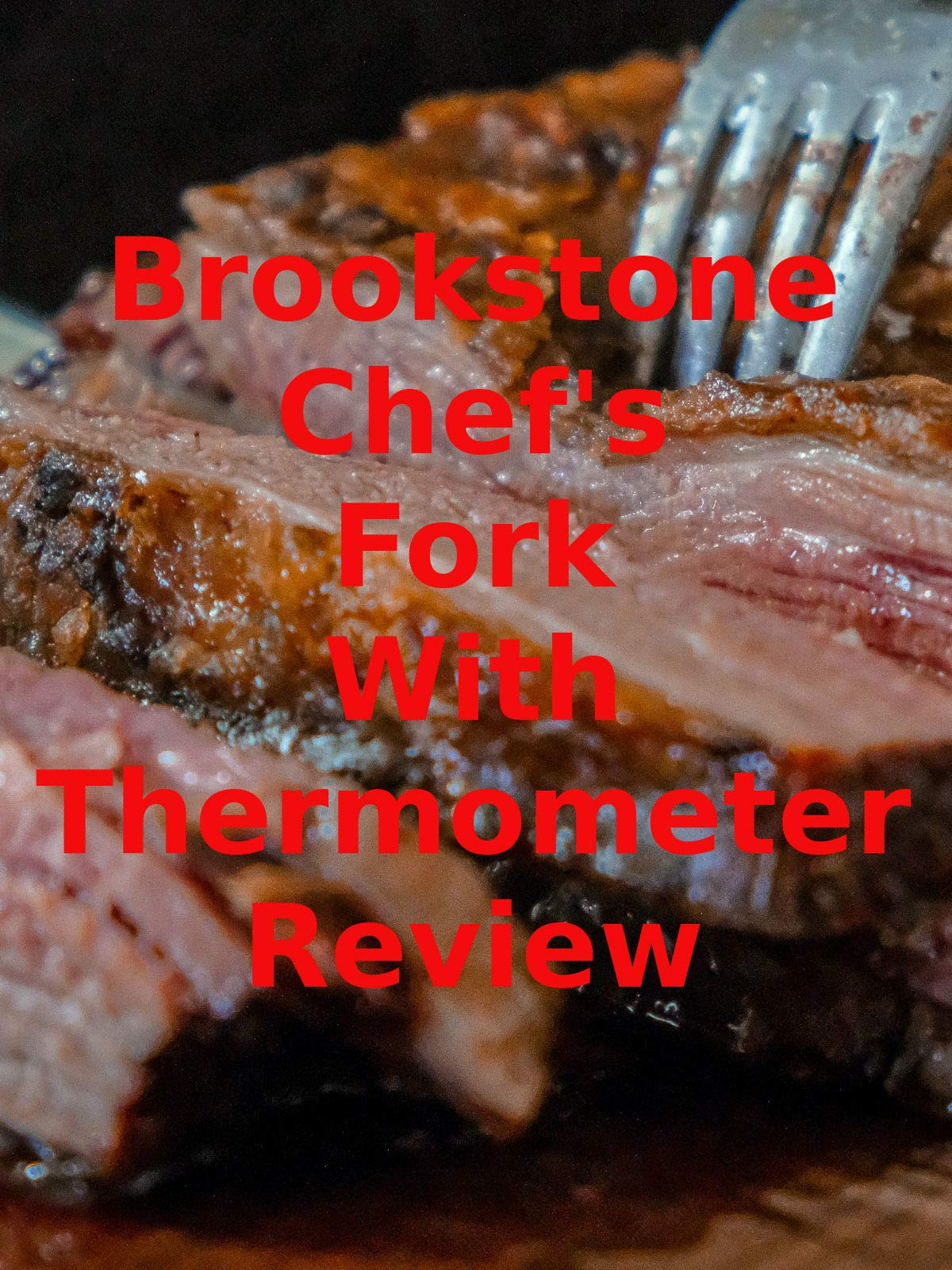 Review: Brookstone Chef's Fork With Thermometer Review on Amazon Prime Video UK