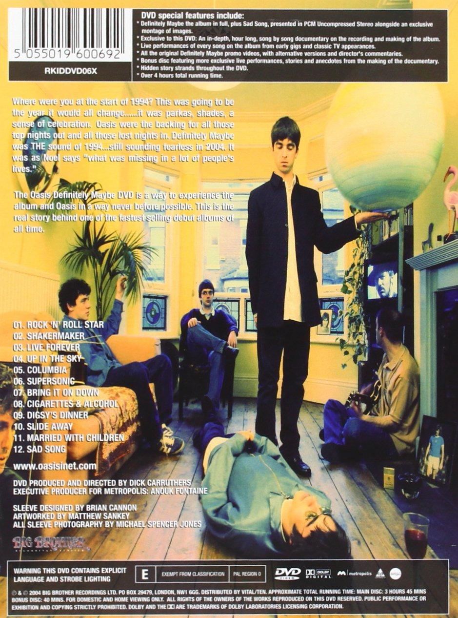 Oasis Definitely Maybe  Oasis Definitely Maybe 20th Anniversary