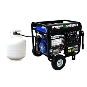 DuroMax Hybrid Fuel use
