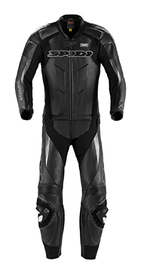 Spidi y 128-026 moto leather suit sUPERSPORT tOURING-noir