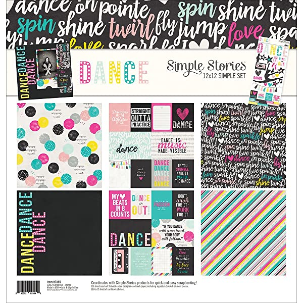Simple Stories Dance 12x12 Collection Kit