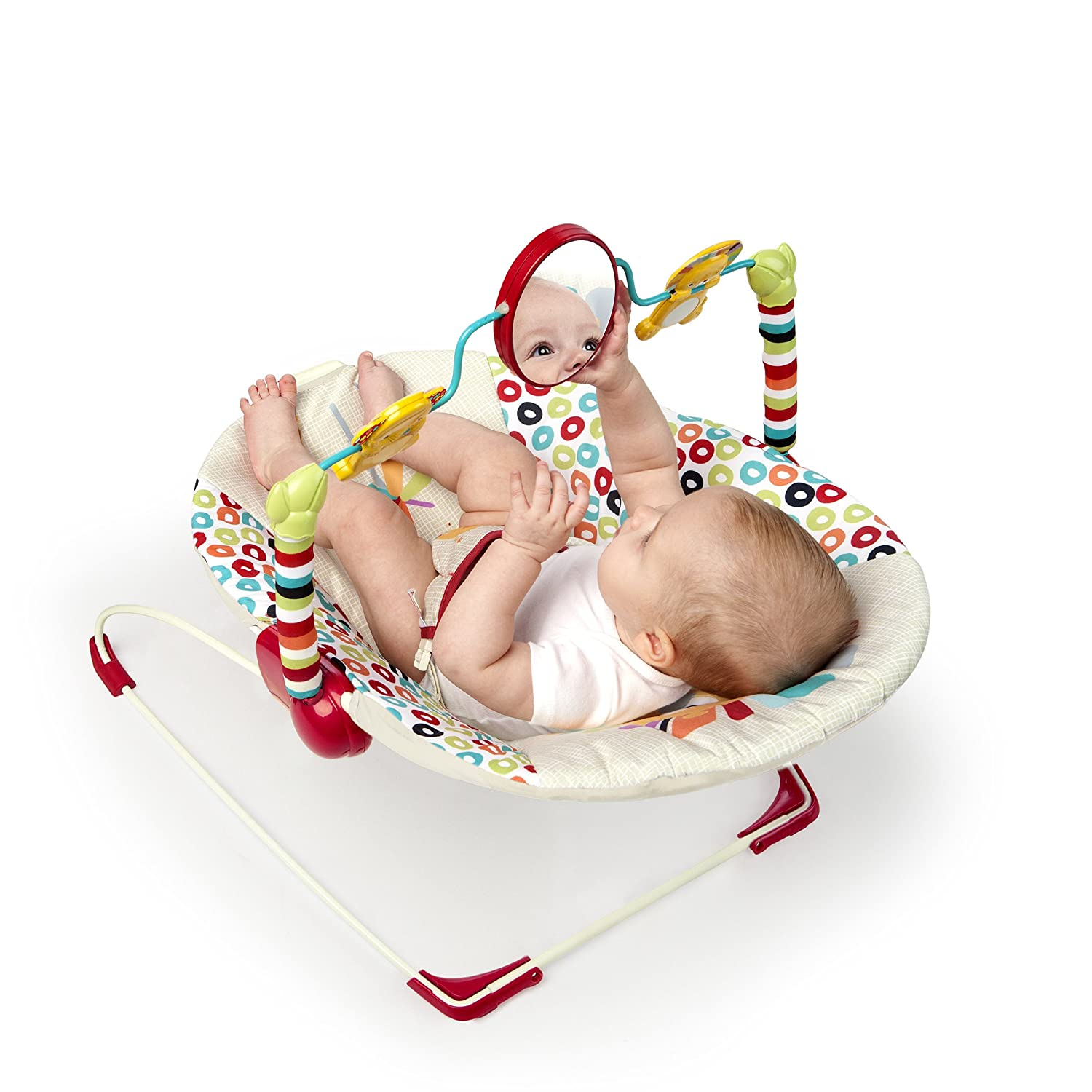 Baby Bouncer Chair Seat Soothing Vibration Interactive