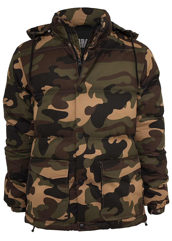 Urban Classics Camo Winter Jacket, wood camo jetzt bestellen