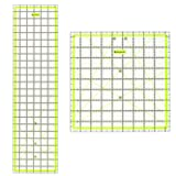 Skyhawk Acrylic Quilting Rulers Combo Pack of 2 Quilters Rulers - Rectangular 24