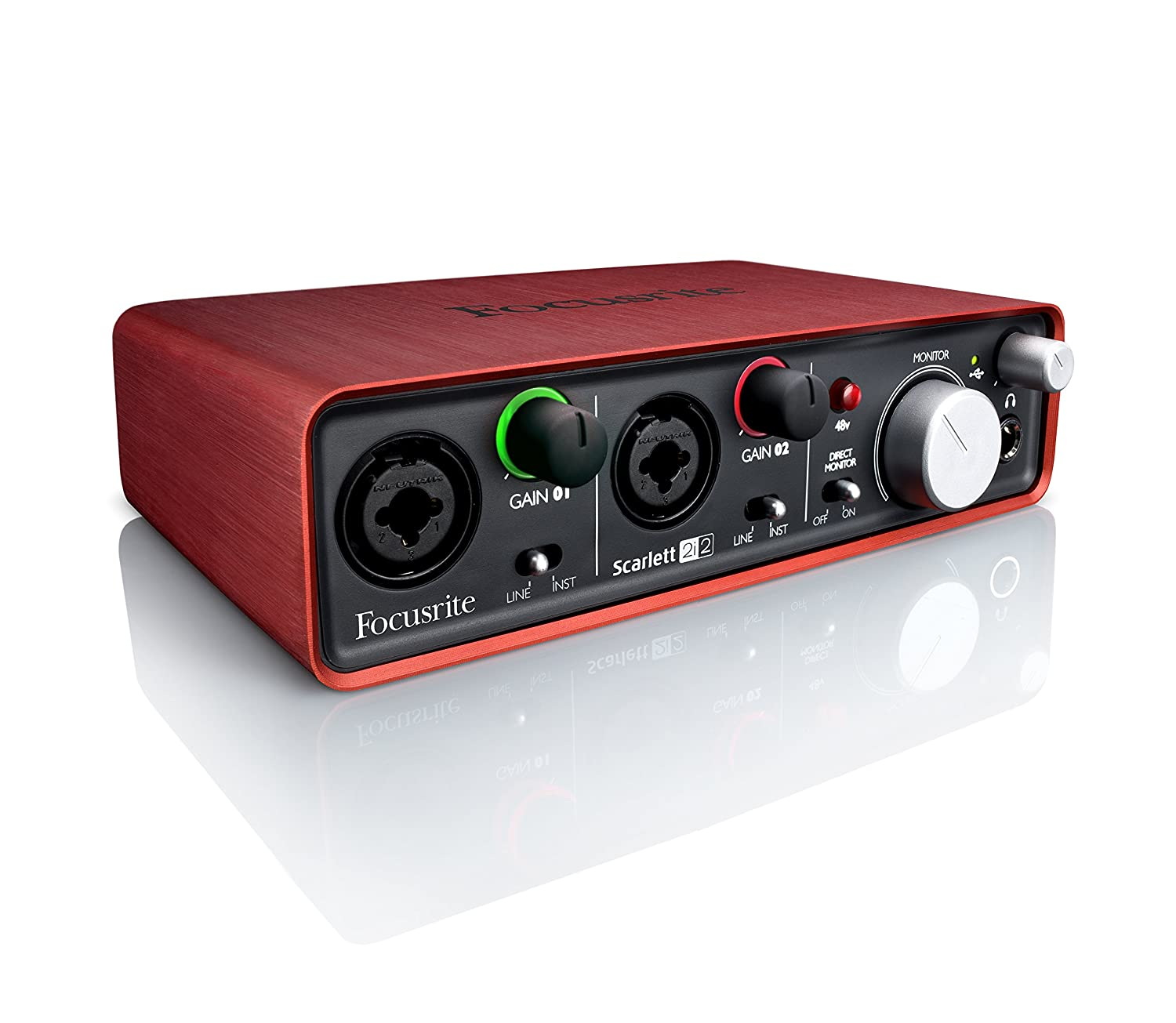 Focusrite Scarlett 2i2 USB Recording Audio Interface