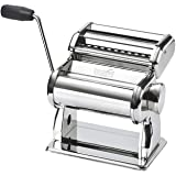 Innovee Pasta Maker – Highest Quality Pasta Machine - 150 Roller With Pasta Cutter – 7 Adjustable Thickness Settings – Make Perfect Spaghetti or Fettuccini – Heat-Treated Gears for Long Life (Color: Silver)