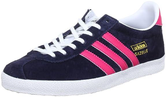 Gazelle Adidas Bleu Et Rose