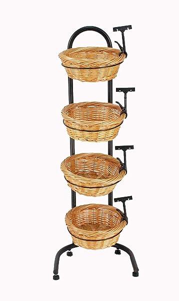 Basket Display Stand
