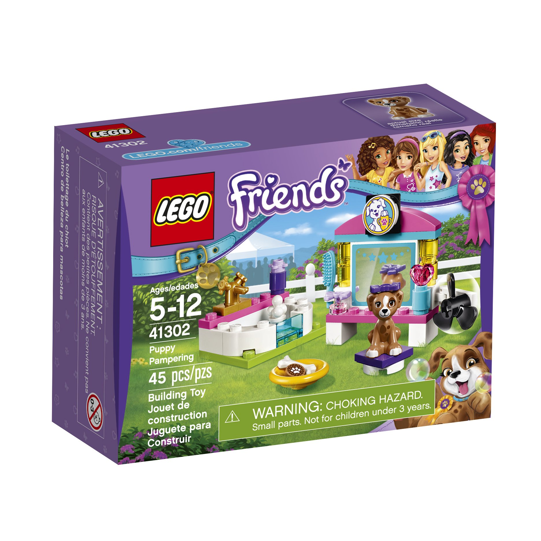 Puppy Pampering Lego Friends Kit