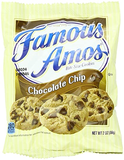 Famous Amos Oatmeal Chocolate Chip Cookies