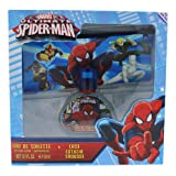 Marvel Ultimate Spider Man for Kids 2 Piece Gift Set with Edt Spray and Case (Color: Multicolor, Tamaño: 2Pc Gift Set)