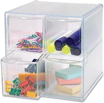 Removable Storage 4-Drawer Organizer