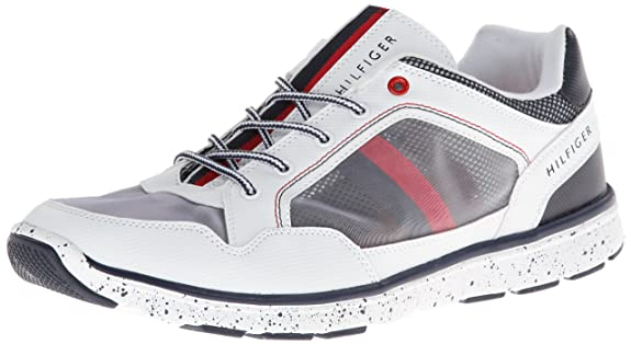 tommy hilfiger herren sneaker schuh herrenschuhe white size 40 47 ebay. Black Bedroom Furniture Sets. Home Design Ideas