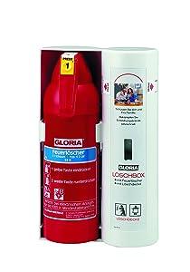 Gloria Löschbox Inhalt 2l Schaumlöscher (Leistung 5A 70B) und Löschdecke 1x1m  BaumarktBewertungen und Beschreibung