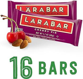 16 Count Larabar Gluten Free Cherry Pie 1.7 oz. Bars Snack Bar
