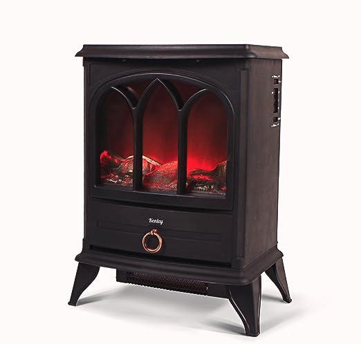 Kenley chimenea electrica efecto estufa de le a ardiendo - Estufas electricas efecto llama ...