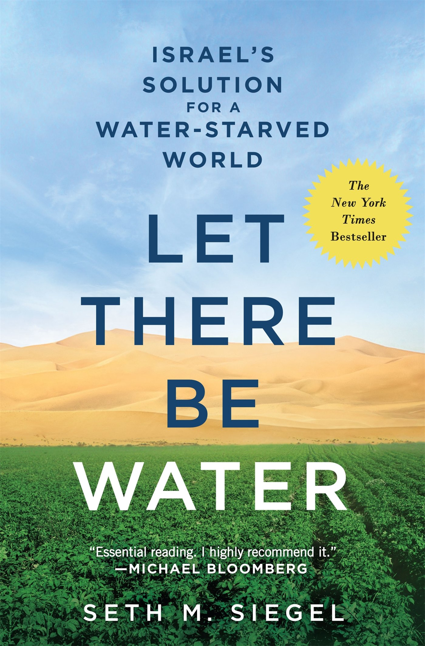 Buy Let There Be Water: Israel's Solution For A Waterstarved World Book  Online At Low Prices In India  Let There Be Water: Israel's Solution For A