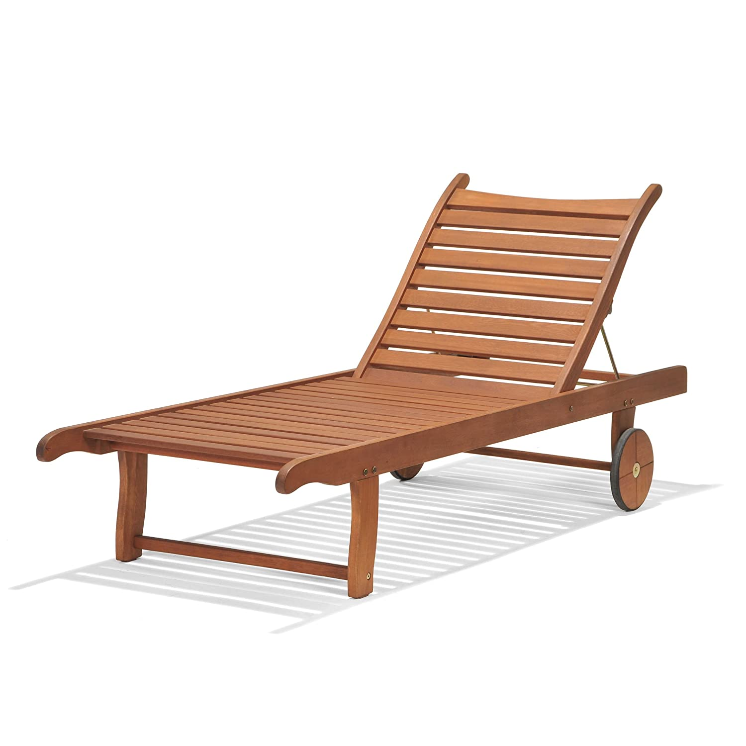 garden sunlounger wooden furniture chair outdoor patio. Black Bedroom Furniture Sets. Home Design Ideas