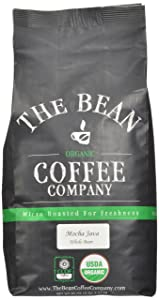 The Bean Coffee Company, Mocha Java Organic Whole Bean Coffee