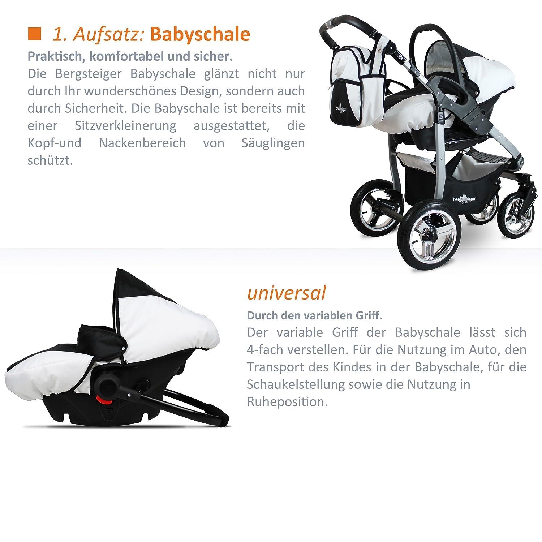 bergsteiger capri kombikinderwagen ii ii kombikinderwagen 3 in 1 kaufen. Black Bedroom Furniture Sets. Home Design Ideas