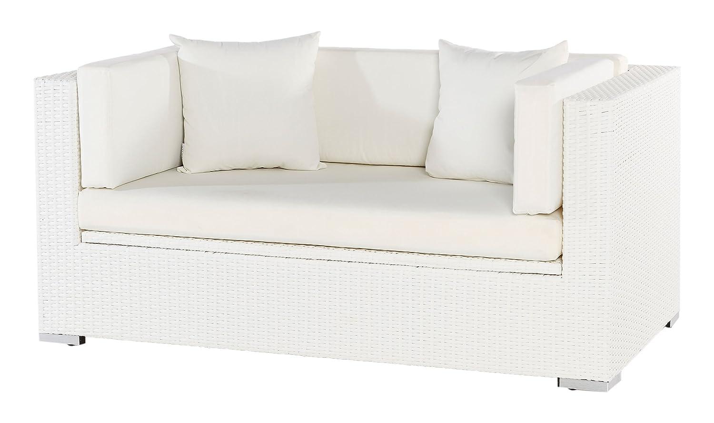 Outflexx Polyrattan Modul 2-Sitzer w29 Box, weiß günstig kaufen
