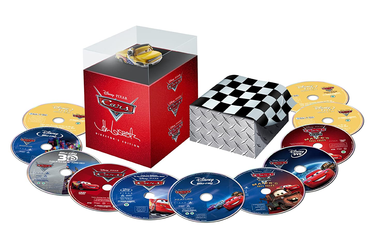 Cars  Bluray Us Import Ebay