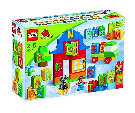 Lego Duplo - Briques - 6051 - Jouet Premier Age - Apprendre L'alphabet