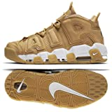 Nike Air More Uptempo '96 Prm Mens Style : AA4060-200 Size : 7.5 D(M) US (Color: Flax/Flax-phantom, Tamaño: 7.5 D(M) US)