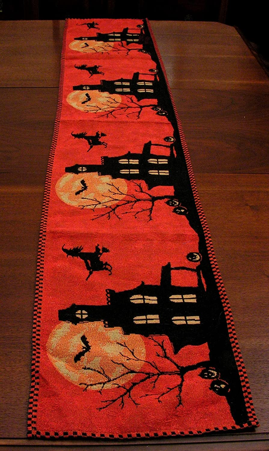 Haunted House Table Runners