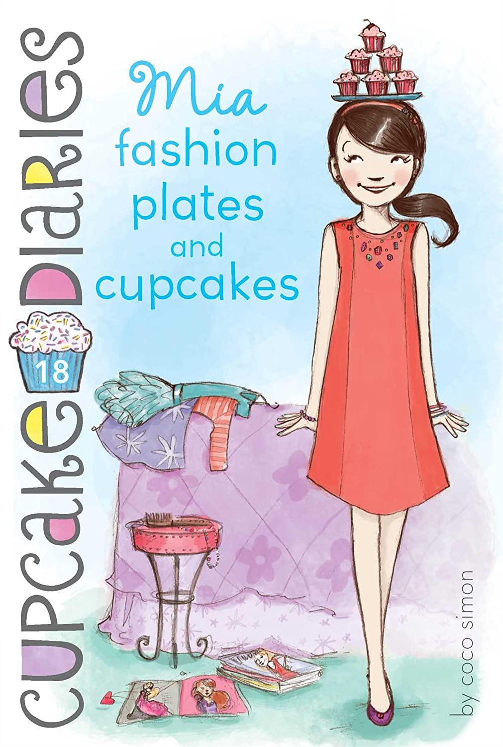 book reviews by tima mia fashion plates and cupcakes