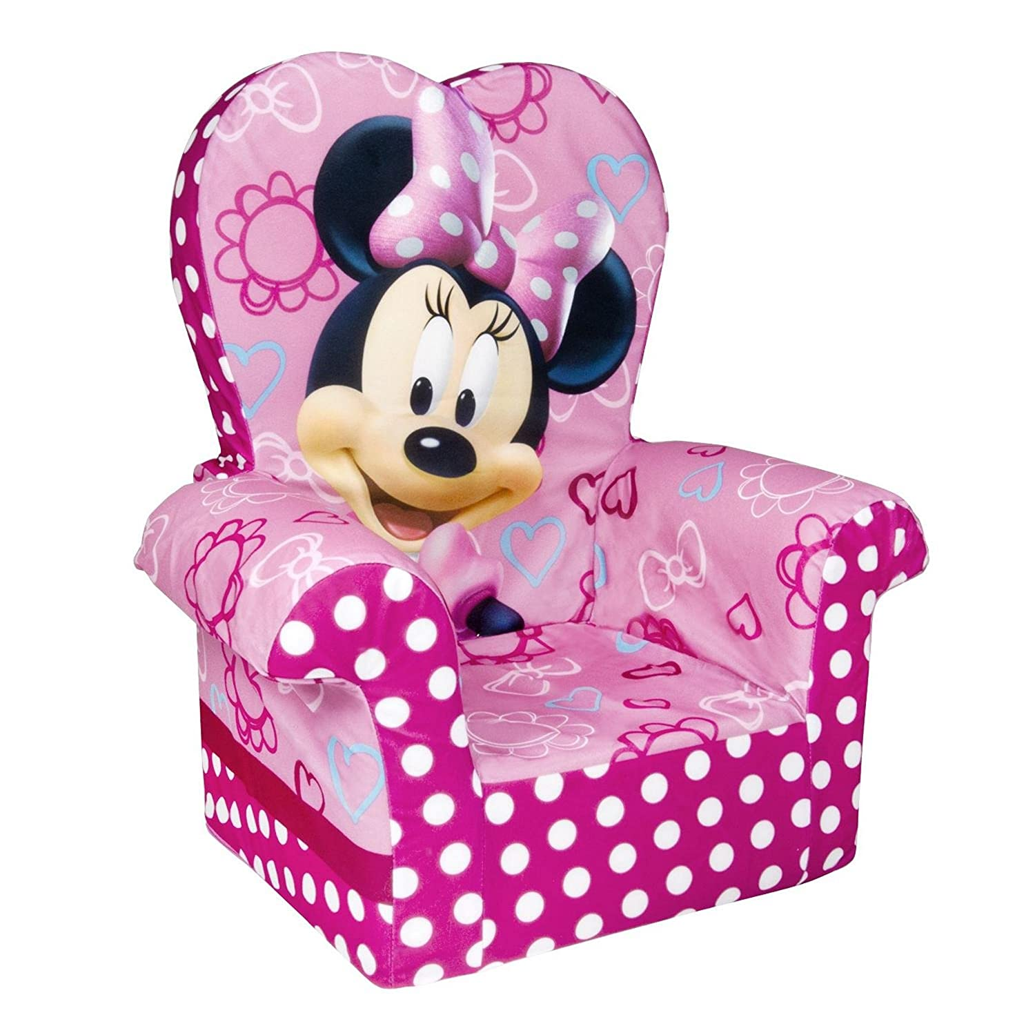 Minnie Mouse Furniture on toddler high chairs at target
