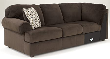 Jessa Place Sofa Left Arm Facing/Chocolate