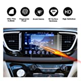 2017 2018 Chrysler Pacifica Hybrid Uconnect Touch Screen Car Display Navigation Screen Protector, RUIYA HD Clear TEMPERED GLASS Car In-Dash Screen Protective Film (8.4-Inch) (Color: 8.4-Inch, Tamaño: 8.4-Inch)