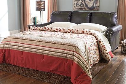 Lottie DuraBlend® Queen Sofa Sleeper in Slate