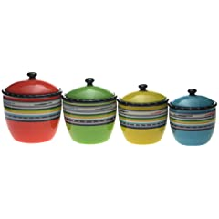 Certified International Santa Fe Canister Set 4-Piece