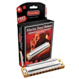Hohner M2005BX-A Marine Band Deluxe Harmonica, Key of A
