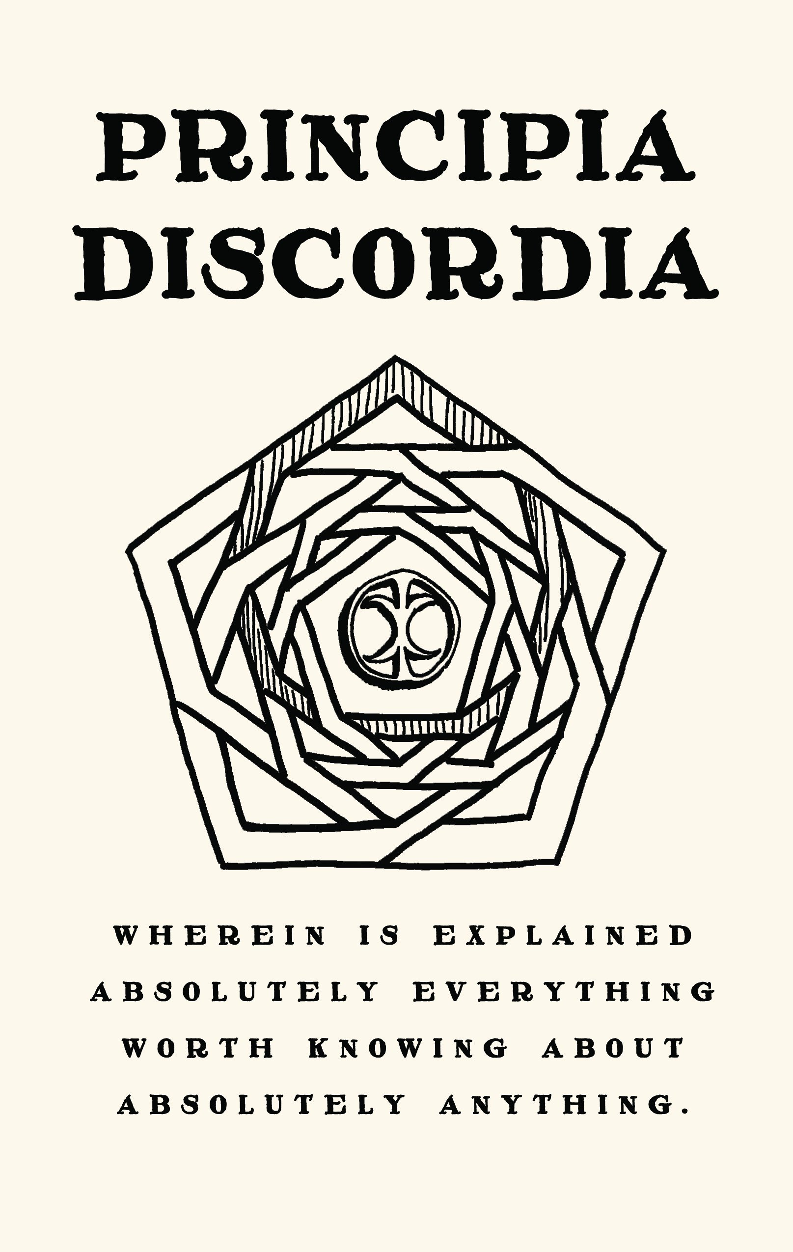 Image for Principia Discordia, or How I Found Goddess And What I Did To Her When I Found Her