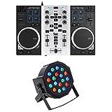 Hercules DJControl Air S USB DJ Controller w/Mixer+Pads+(2) Jog Wheels+Rockpar