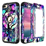 Lamcase for iPod Touch 7th Gen 2019 Case, iPod Touch 7/6/5 Case Shockproof Hybrid Rubber Dual Layer Armor Protective Case Cover for Apple iPod Touch 7th/6th/5th Generation, Life Tree (Color: Life Tree)