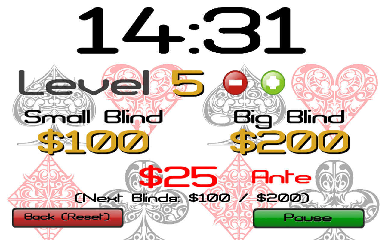 Free poker timer software