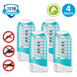 Mosquito Killer, Bug Zapper Electric Mosquito Zapper Gnat Zapper - Protects Up to 200 Sq Ft/Bug and Fly Killer, Mosquito Trap - for Residential and Commercial Use (Tamaño: Design-1)