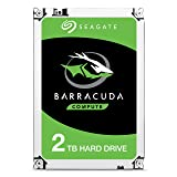 Seagate BarraCuda Internal Hard Drive 2TB SATA 6Gb/s 256MB Cache 3.5-Inch - Frustration Free Packaging (ST2000DM008) (Tamaño: 2TB)