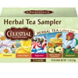 Celestial Seasonings Herbal Tea, Herbal Tea Sampler, 18 Count (Pack of 6) (Tamaño: 18 Count (Pack of 6))